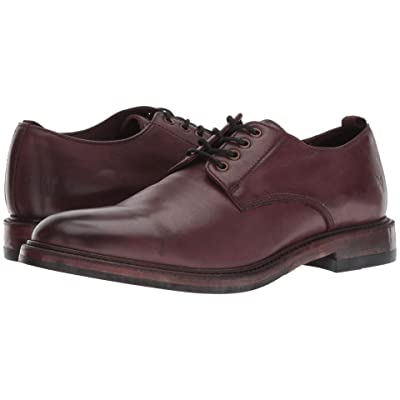 Frye Murray Oxford (Oxblood Washed Dip-Dye Leather) Men