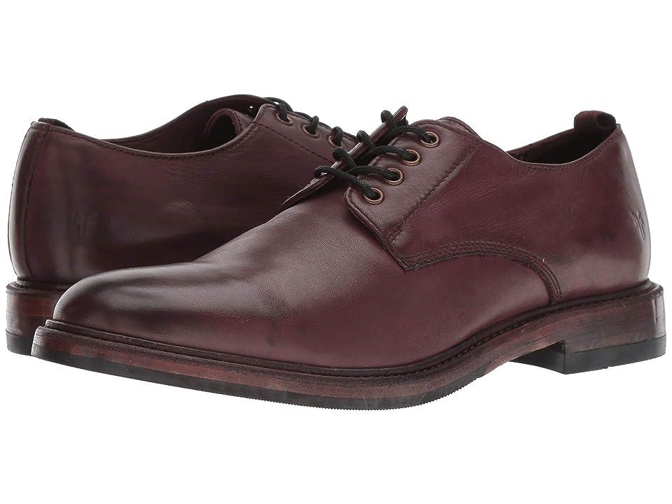Frye Murray Oxford (Oxblood Washed Dip-Dye Leather) Men