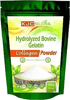 HYDROLYZED Bovine Collagen Powder 500 g (17.6 oz) Grass FED, Pasture Raised KJC NUTRA. Free Shipping.
