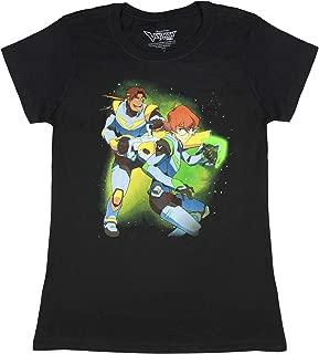 Voltron Shirt - Voltron: Legendary Defender Hunk And Pidge Character Juniors T-Shirt
