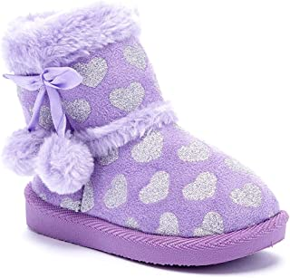 Madness Jr. Girls Warm Winter Boots, Hearts