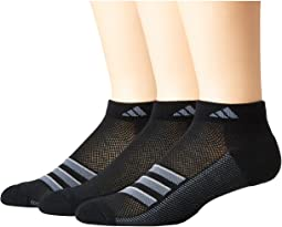 adidas - Climacool® Superlite Stripe Low Cut Socks 3-Pack