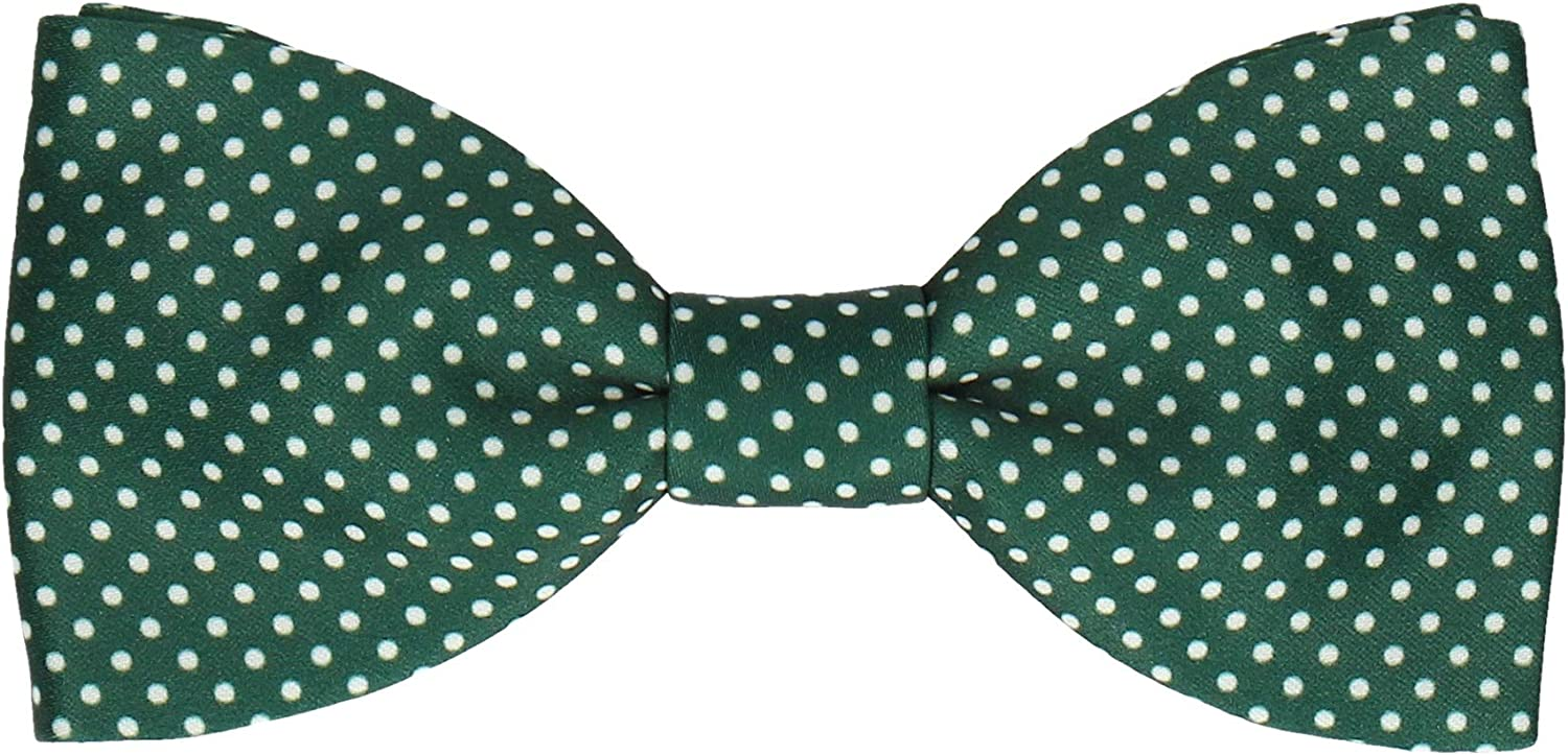 Mrs Bow Tie, Bow Tie with Pin Dots, Pre-Tied, Self-Tying Bow Ties