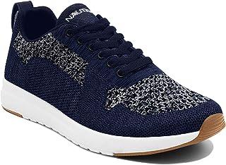 Nautica Men`s Paylon Knit Casual Lace-Up Fashion Sneakers