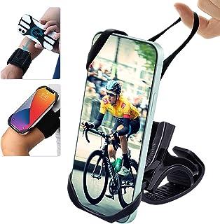 zonyee Universal Bike Phone Mount,3 in 1 Running Armband...