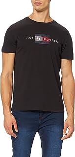 Tommy Hilfiger Herren Lines Hilfiger Tee T-Shirt