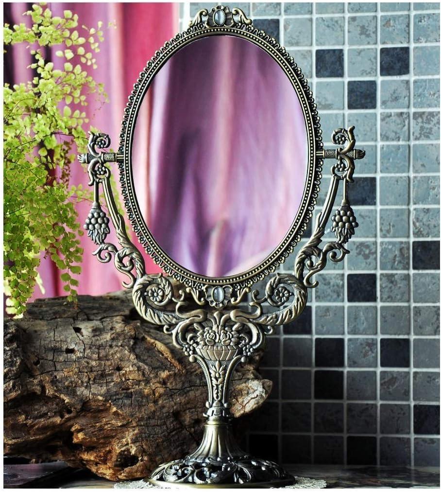 High quality LIMEI-ZEN Bathroom Mirror Continental Faced Vintage Deskt Double Special price