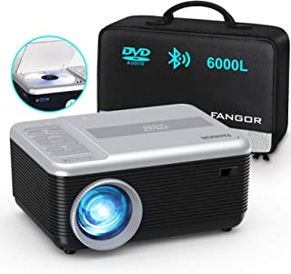 Mini Projector, FANGOR Portable Movie Projector Built in...