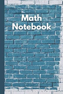 """Math Notebook workbook: 1 Cm Squared Quad Ruled Grid Paper Notebook for Mathematics and geometry workbook for math 6""""x9"""" i..."""