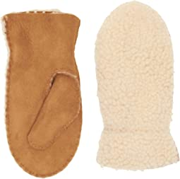 Exposed Curly Pile Mitten (Toddler/Little Kids)