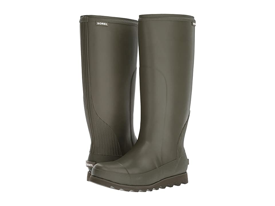 SOREL Joan Rain Tall (Nori/Zest) Women