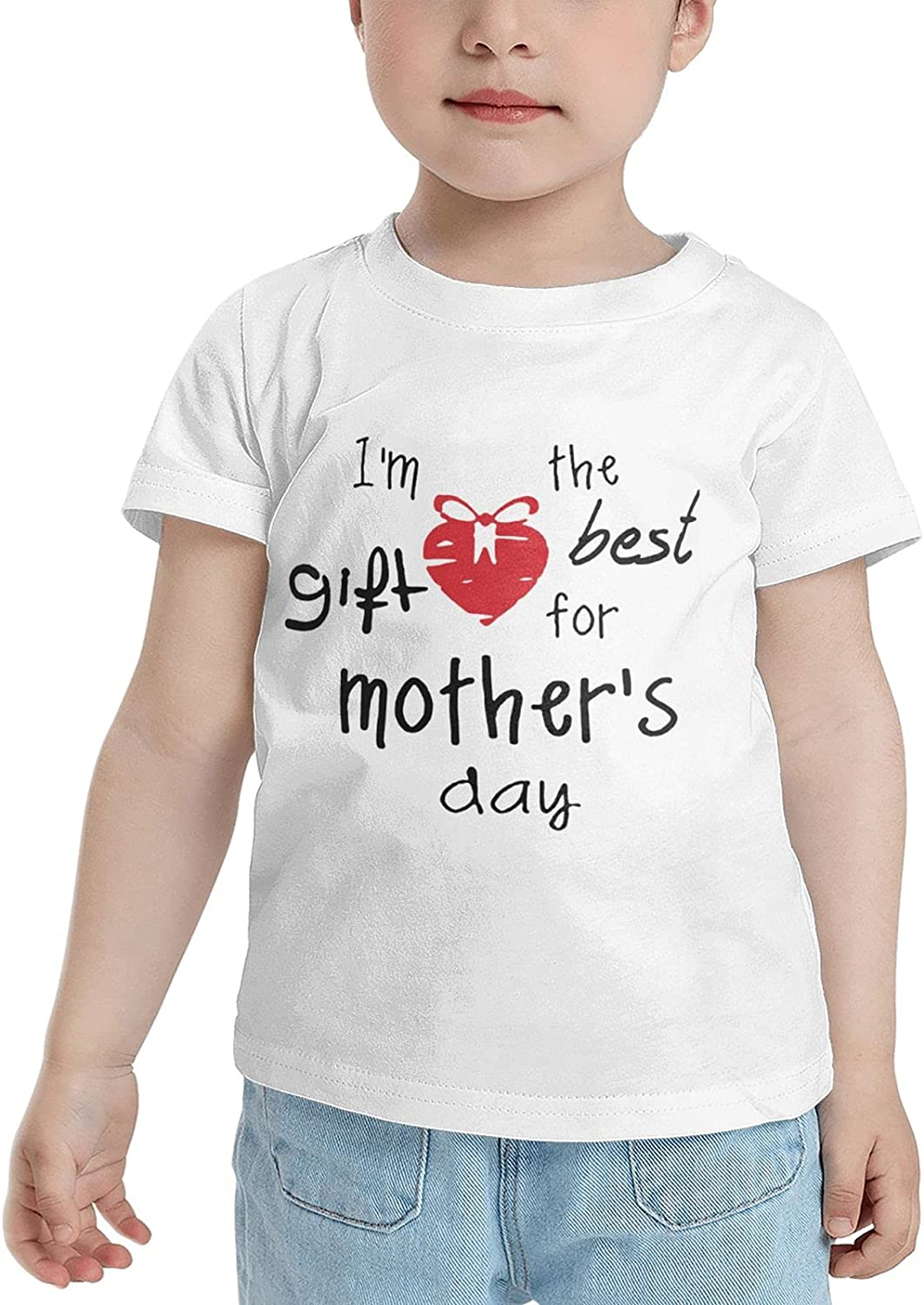 I M The Gift Best for Mothers Day T-Shirts Novelty for Kids Tees with Cool Designs