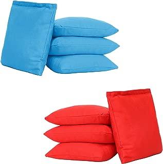 UKASE Weather Resistant Cornhole Bags (Set of 8), Cornhole Bean Bags Set of 8 Regulation