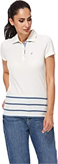 NAUTICA Polos For Women, White XS