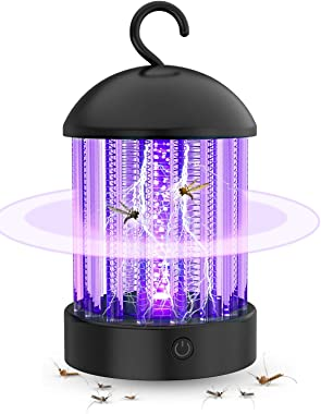 Electronic Mosquito Killer Lamp,Bug Zapper with Light Mosquito Trap, Fly Zapper Insect Killer Safety & Non-Toxic for Home Ind