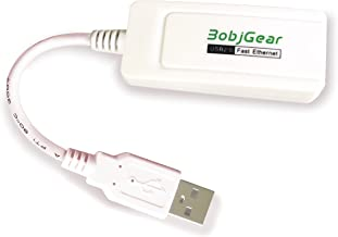 BobjGear USB to RJ45 Compact Fast Ethernet Adapter for Android Tablets, Chromebooks, UltraBooks, Windows, Linux, Mac, Chrome OS, Android TV Sticks; BobjGear 1 Year Limited Warranty, Model 1 (USB-A)