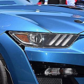 NCUIXZHAdesivo de decalque transparente TPU de restauração de farol de carro, para Ford Mustang 2015-presente Shelby GT500