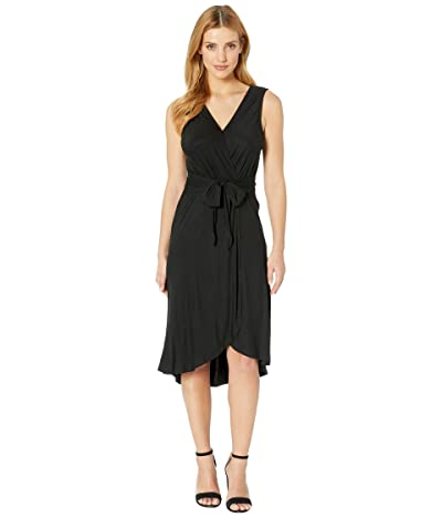 B Collection by Bobeau Rowan Wrap Dress (Black) Women