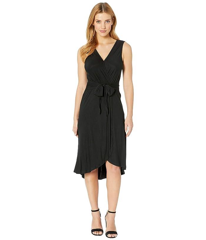 B Collection by Bobeau Rowan Wrap Dress (Black) Women