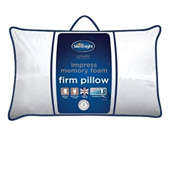 Snuggledown Memory Foam Firm Support Pillow Single: Amazon