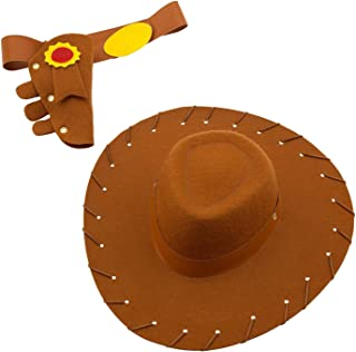 Disney Woody Costume Accessory Set for Kids Brown