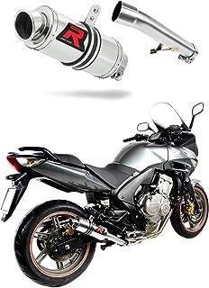 F 650 FUNDURO Escape Moto Deportivo Redondo Silenciador Dominator Exhaust Racing Slip-on