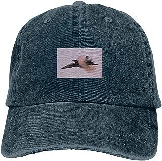 FA-18F Super Hornet Vapor Cone Denim Dad Hats Adjustable Baseball Cap