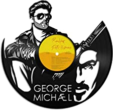 VinylShopUS - George Michael Vinyl Wall Art Music Bands and Musicians Themed | Cool Gift Ideas for Men Women | Home Decoration Decor