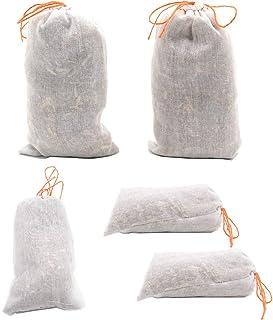 Dancepandas 5 Cedro bolsitas antipolillas Natural de diseño ecológico