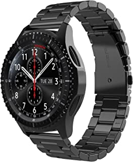 Simpeak Band Compatible with Samsung Galaxy Watch 3 45mm / Gear S3 Frontier/Classic/Galaxy Watch 46mm, Premium Stainless S...