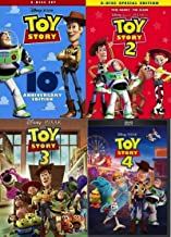 Toy Story 1 2 3 4 DVD Complete Collection