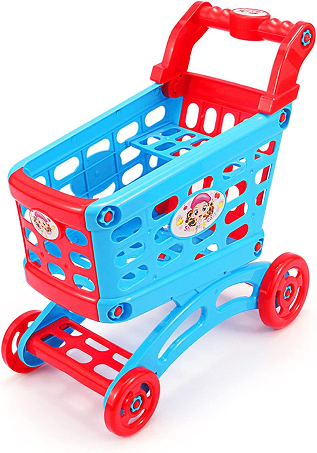 Shopping Cart Toy, Simulation Toy Trolley Boys and Girls Play Ho