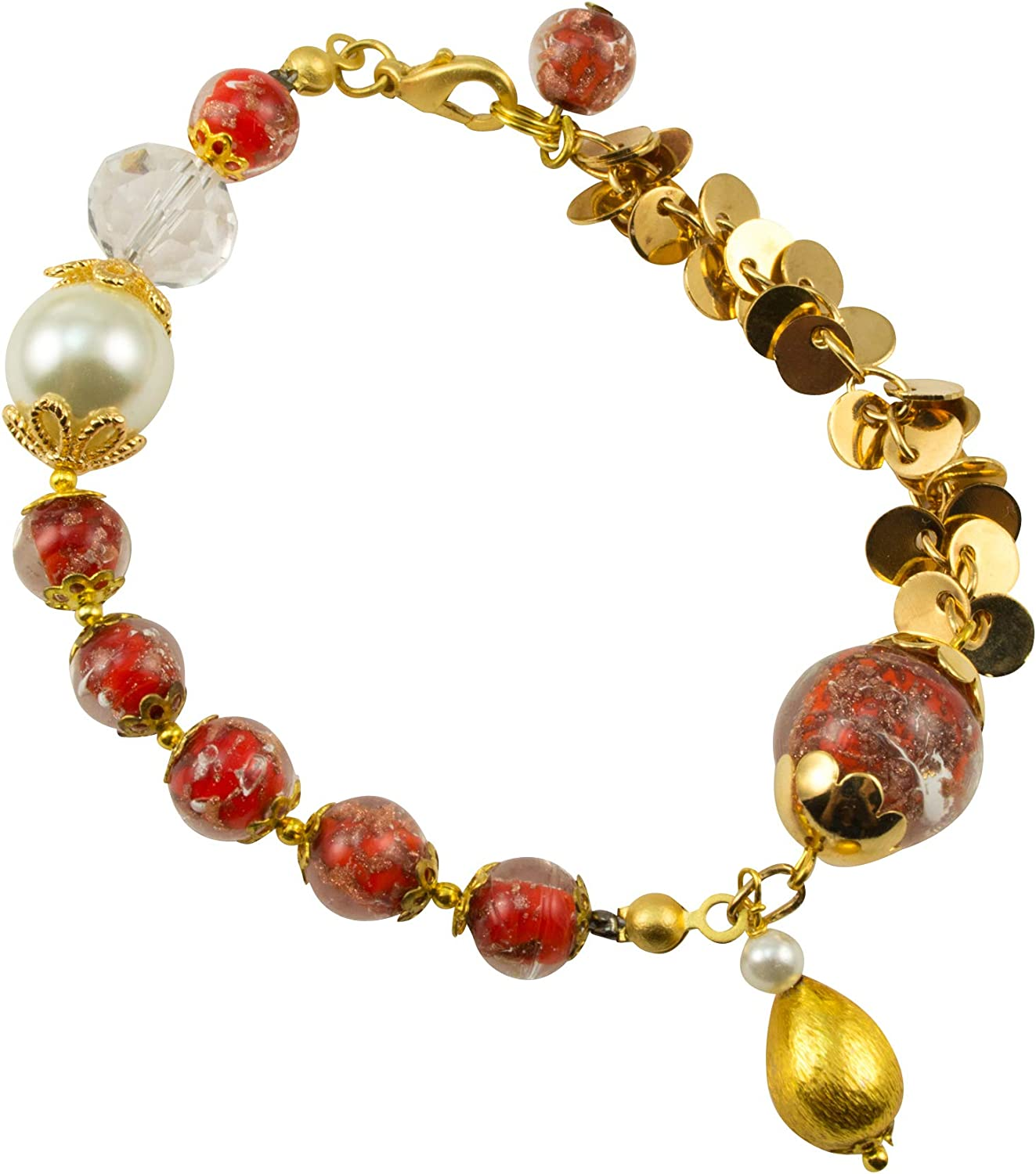 Just Give Very popular Me Jewels Genuine Sommerso Venice Murano Aventurina Gl Sales for sale