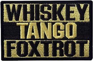 ShowPlus Whiskey Tango Foxtrot Patch Tactical Morale Embroidered Patch (Whiskey Tango Foxtrot # Yellow)