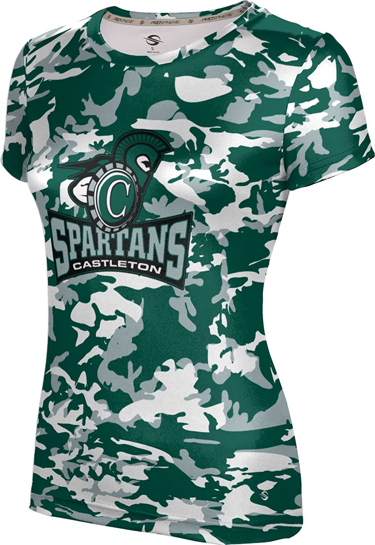 ProSphere Castleton University Girls' Performance T-Shirt (Camo)