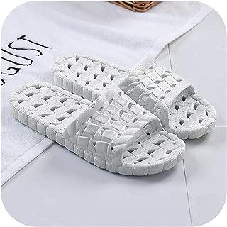 Slippers Summer Floor Skid Proof Home Floor Slippers Indoor Family Stripe Flat Bathroom Bath Sandal Slippers Women