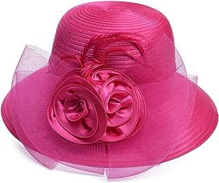 Best hot pink church hats Reviews