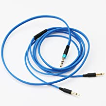 NEOMUSICIA Replacement Cable for SENNHEISER HD477 HD497 HD212 pro EH250 EH350 Headphones Blue 1.2m/4ft