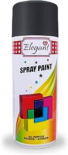 Elegant Gloss Black 400ml Spray Paint - Multipurpose Fast Drying