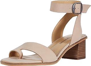 Lucky Brand Women's LOKLIN Heeled Sandal, Moonlight, 6