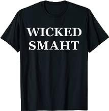 Boston Wicked Smaht Smart Funny Massachusetts T-Shirt Chowda