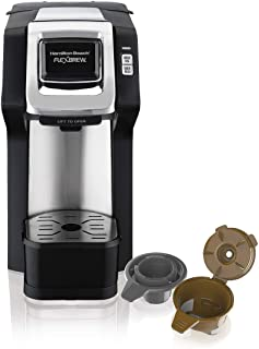 Hamilton Beach (49979) Single Serve Coffee Maker,  Compatible with pod Packs and..