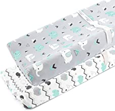 elephant changing pad cover