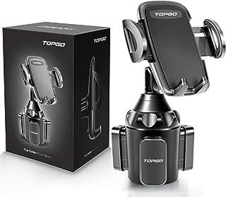 Car-Cup-Holder-Phone-Mount Adjustable Pole Automobile Cup Holder Smart Phone Cradle Car..