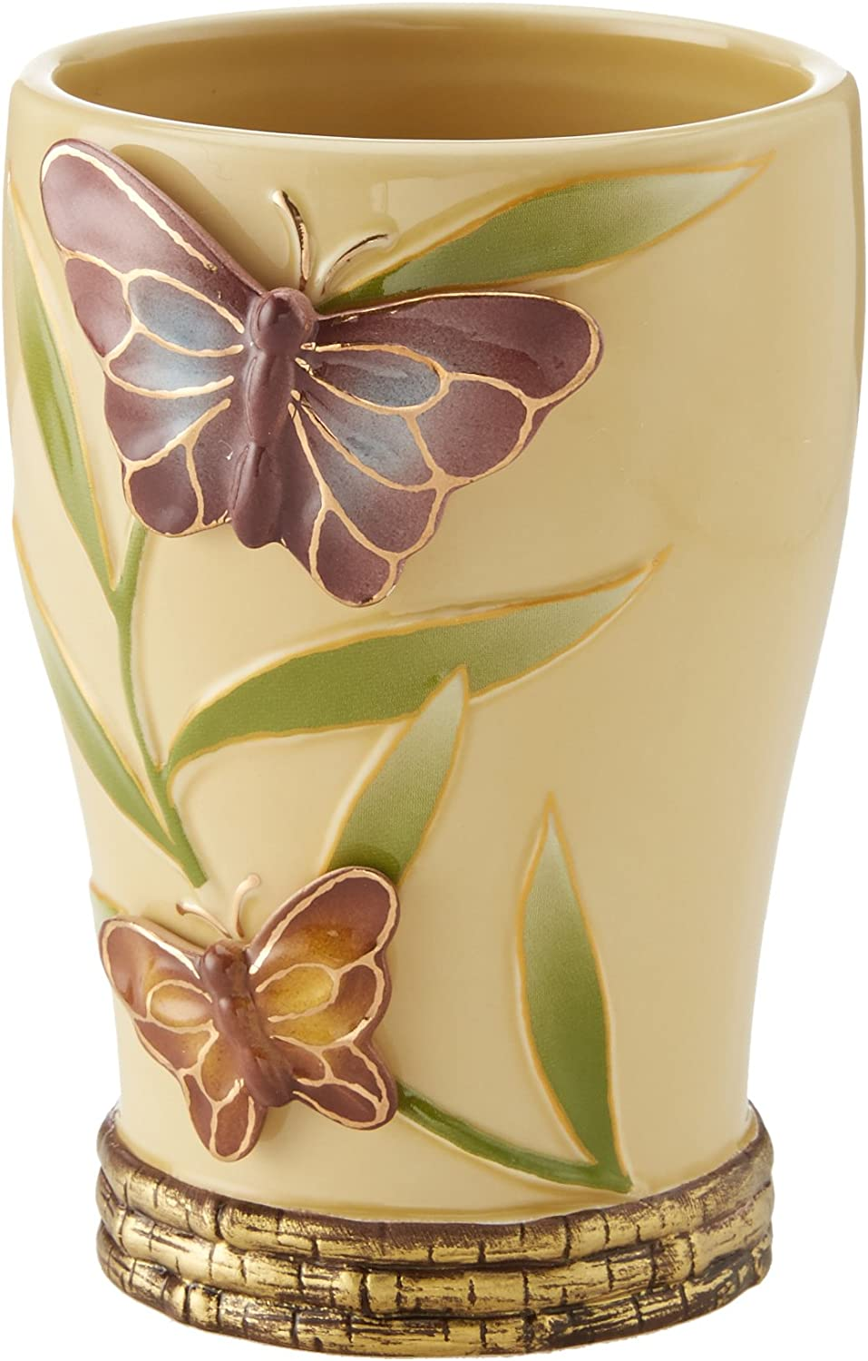 Creative Bath Bora Ceramic Beige Tumbler Spring new work one Popular product after another