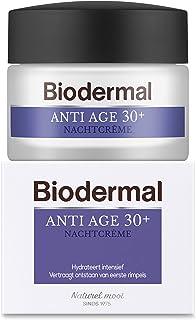 Biodermal Anti Age 30+ - Nachtcrème tegen huidveroudering - Deze nachtcreme helpt de vorming van eerste rimpels te vertrag...