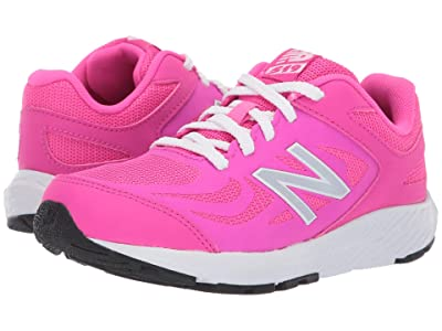 New Balance Kids 519v1 (Little Kid/Big Kid) (Peony/White) Girls Shoes