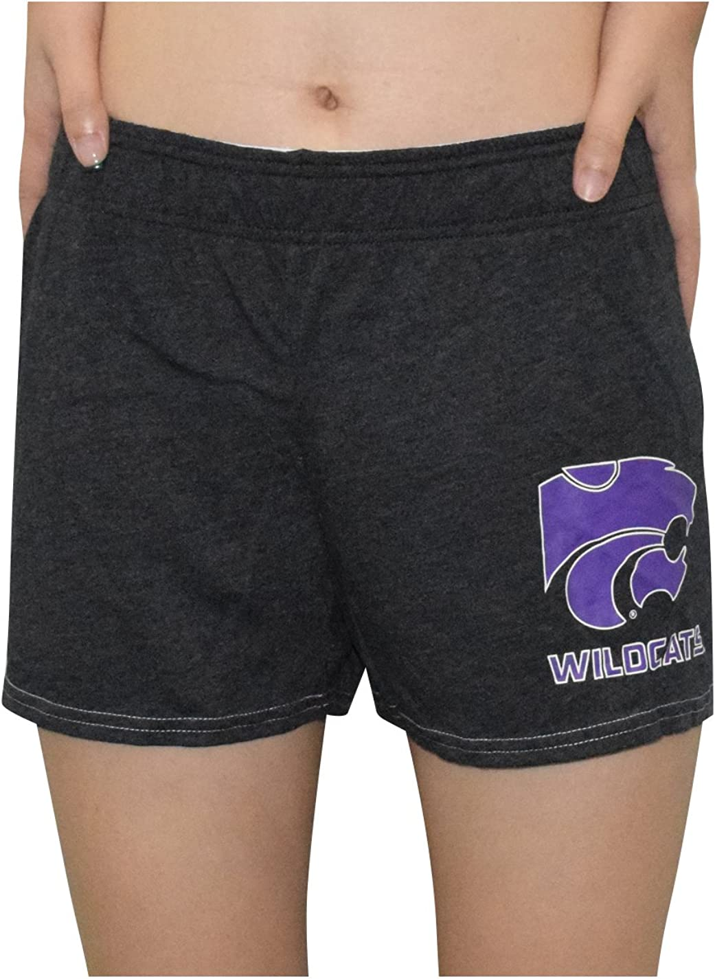 NCAA KANSAS STATE WILDCATS Womens Lounge Pajama Shorts