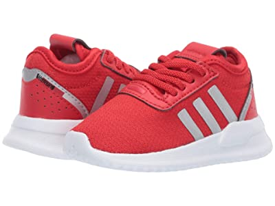 adidas Originals Kids U_Path X EL (Infant/Toddler) (Lush Red/Silver Metallic/Black) Kids Shoes