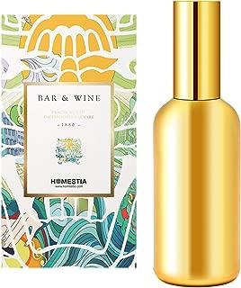Homestia Fine Mist Sprayer Glass Cocktail Atomizer Refillable Perfume Travel Atomizer Gold Plated 100ml